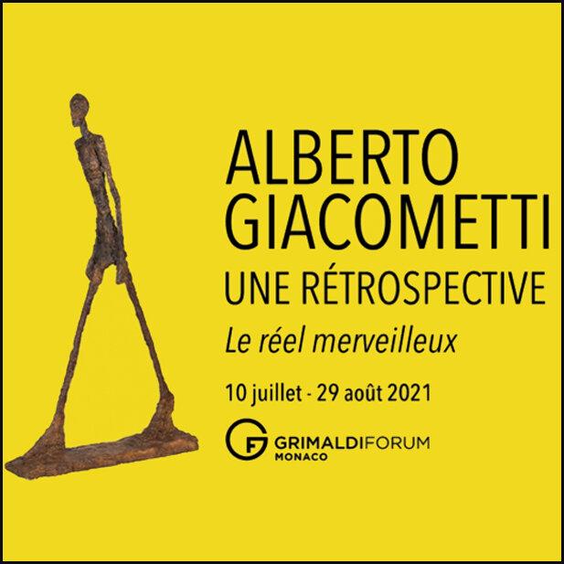 Exposition Alberto Giacometti - Une Rétrospective