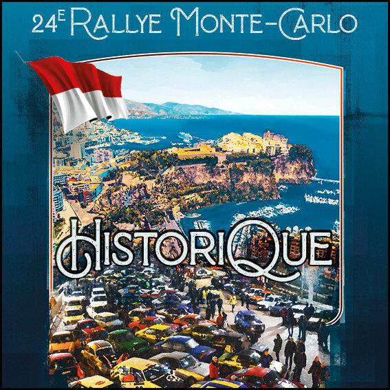 24e Rallye Automobile Monte-Carlo Historique